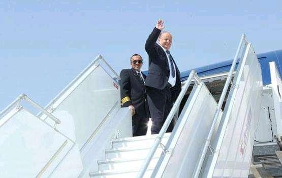الرئيس هادي يغادر العاصمة السعودية الرياض