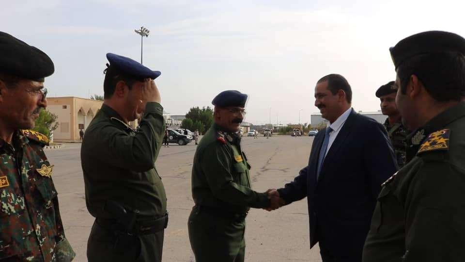 وزير الداخلية يعود الى سيئون بعد زيارة رسمية إلى جمهورية مصر العربية