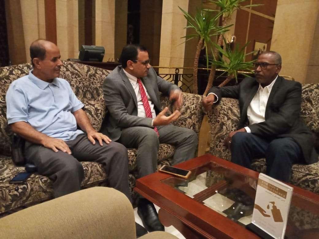 الوزير السقطري يلتقي مدير محفظة الصندوق الدولي للتنمية