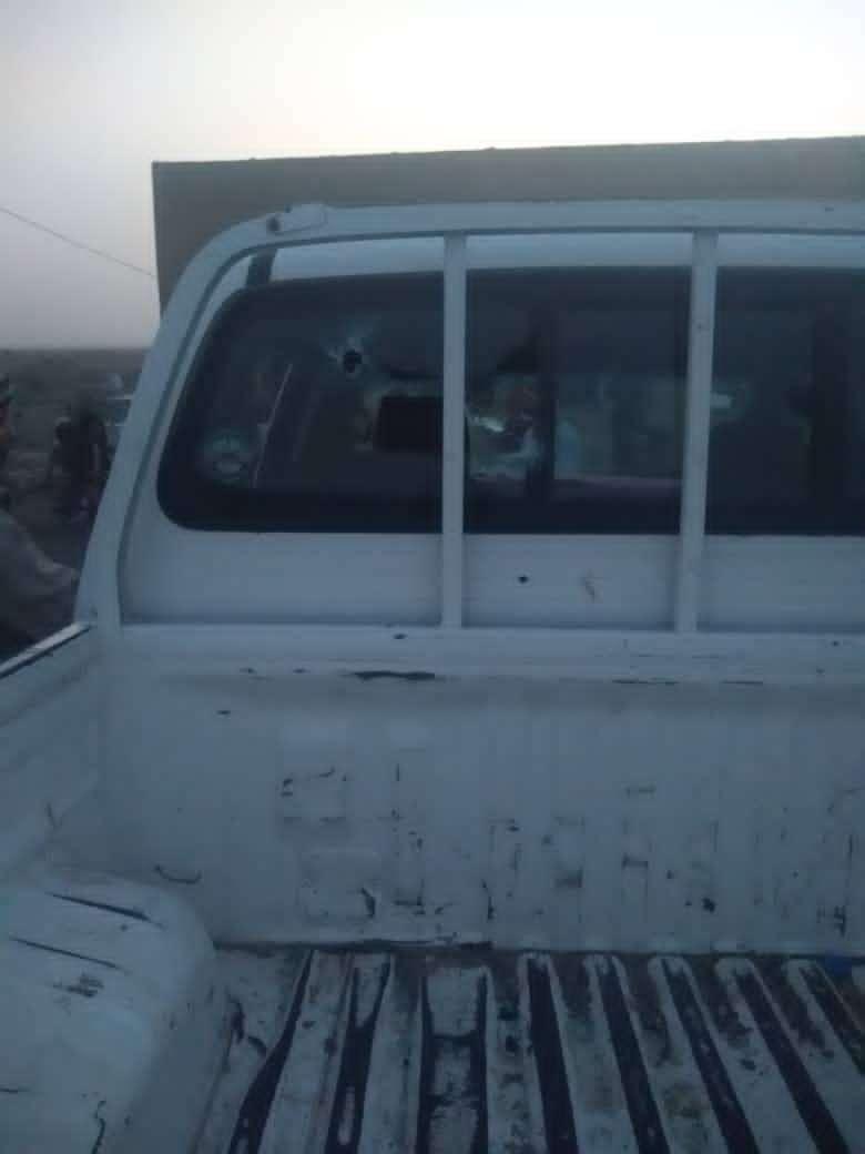 أمن حزام قاعدة العند الجوية بلحج يكشف تفاصيل محاولة اغتيال احد منتسبيه