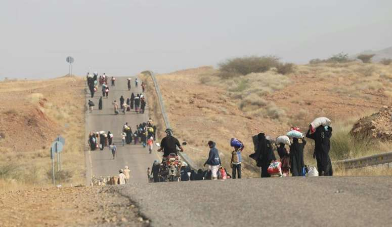بمهلة قصيرة.. الحوثي يقرر تهجير 315 أسرة يمنية من الحديدة
