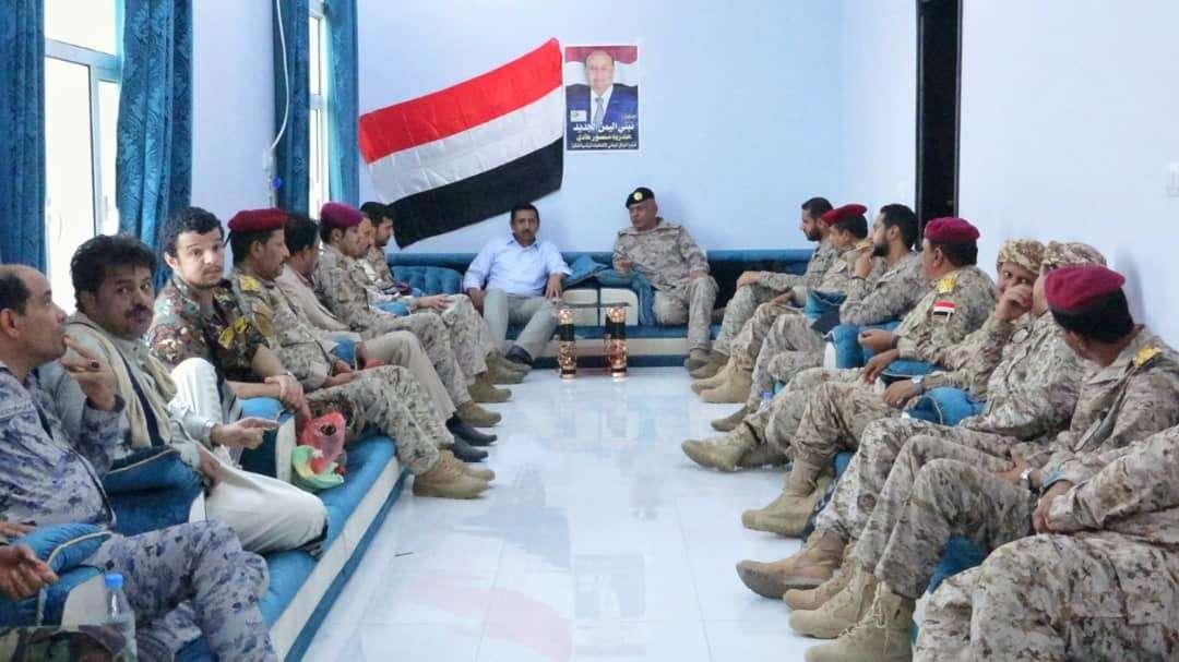 حصري : وساطة سعودية لخفض حدة التوتر بين قوات الجيش والقوات الإماراتية في بلحاف