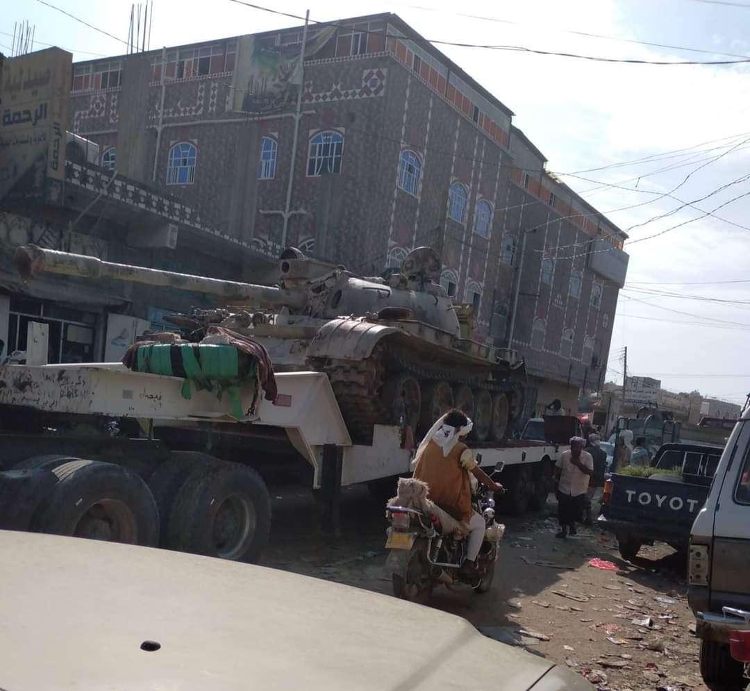 عاجل: الجيش يدفع بتعزيزات عسكرية ودبابات صوب حدود البيضاء ابين